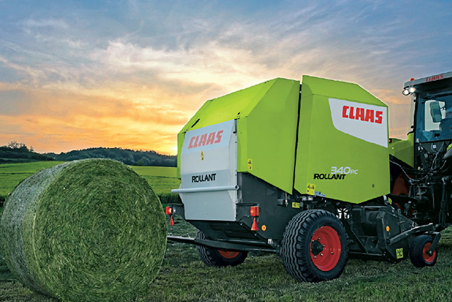 CLAAS ROLLANT系列圆捆机